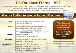 Gospel Invitation